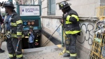 Emergency service personnel work at the scene of a subway derailment, Tuesday, June 27, 2017, in the Harlem neighborhood of New York. (Mary Altaffer/AP)