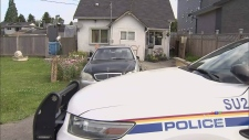 Bandaged man arrested after Surrey shooting