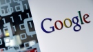 The Google logo appears in this photo. (Virginia Mayo/AP Photo)