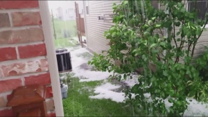 CTV Ottawa: Viewer video of hail storm in Arnprior