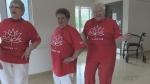 Seniors celebrate Canada's 150th