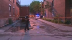 The man was shot by police on Robillard Ave. in the Gay Village.