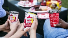 "Tim Hortons launched a special edition of its popular ""Roll Up The Rim To Win"" contest in honour of Canada's 150th birthday. (Tim Hortons)"