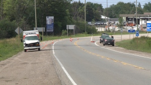 OPP says cyclist died after being struck by cube van