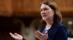 Health Minister Jane Philpott responds to a question during question period in the House of Commons on Parliament Hill in Ottawa on May 30, 2017. (Adrian Wyld / THE CANADIAN PRESS)