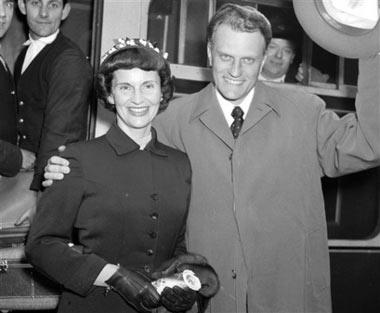 Don Franklin London >> Evangelist Billy Graham's wife Ruth dies at 87 | CTV News