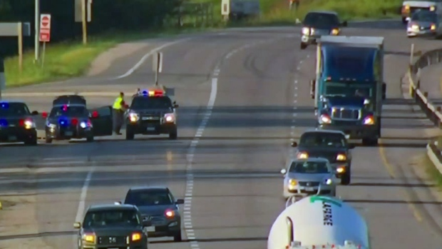 Police chase on Highway 400 reaches 200 km/h | CTV News Toronto