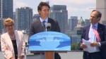 PM Trudeau, Premier Wynne make an announcement