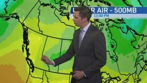 CTV Calgary: Good chance of rain today