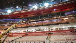 Inside Little Caesars Arena in Detroit. (Little Caesars Arena/ Twitter)