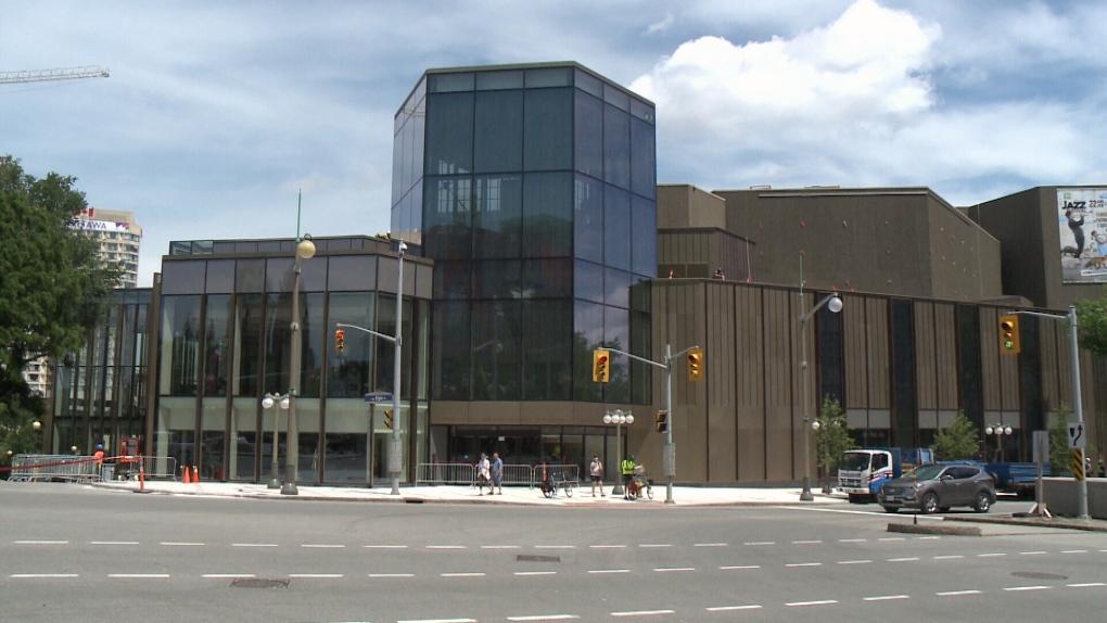 national arts centre renovation