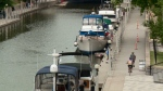 CTV Ottawa: Boats in the Rideau Canal
