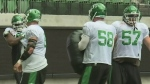 Rider shift focus to offensive line