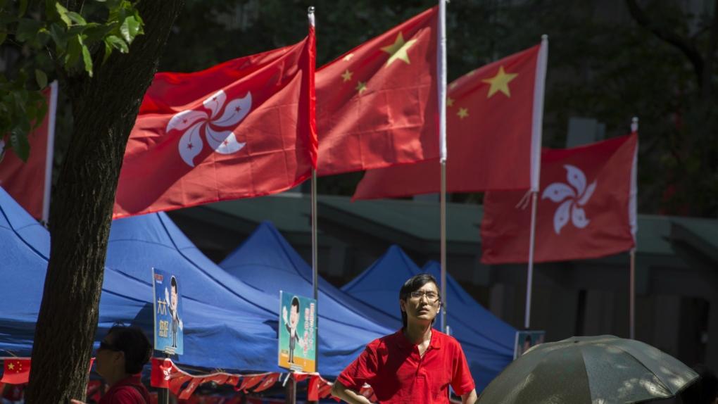China's president visits Hong Kong