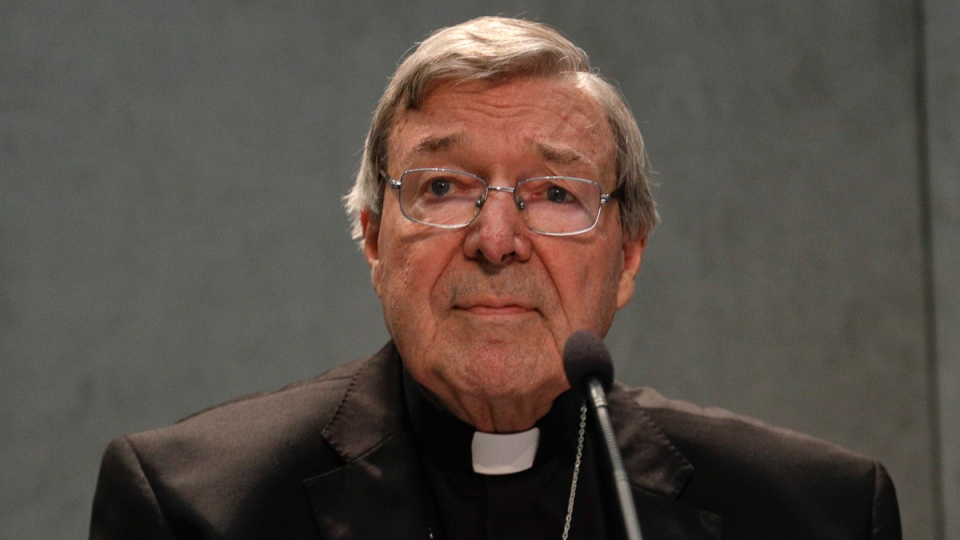 Cardinal George Pell at the Vatican