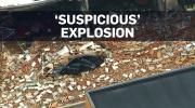 Man arrested after 'suspicious' blast at GTA cafe