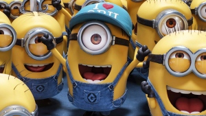 """This image released by Illumination and Universal Pictures shows a scene from """"Despicable Me 3."""" (Illumination and Universal Pictures via AP)"""