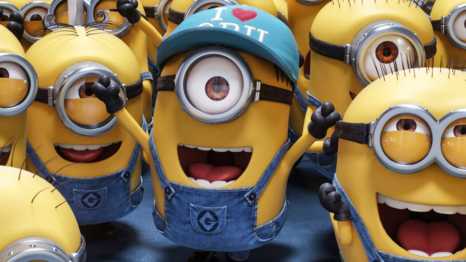 "This image released by Illumination and Universal Pictures shows a scene from ""Despicable Me 3."" (Illumination and Universal Pictures via AP)"