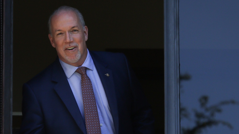 British Columbia NDP Leader John Horgan