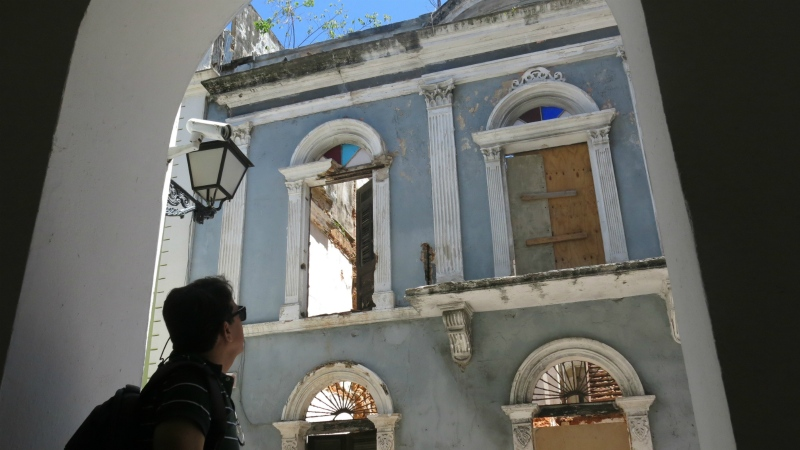 Puerto Rico struggles to save historic buildings amid debt crisis