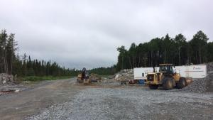 Shoal Lake Freedom Road construction