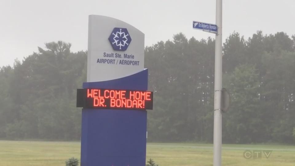 Dr. Roberta Bondar Honoured by her hometown