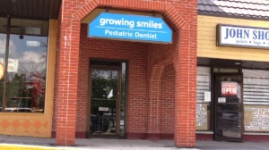 The Guelph Dental Associates/Growing Smiles clinic on Eramosa Road in Guelph is pictured on Friday ,June 30, 2017.