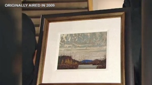 Auction of Tom Thomson painting