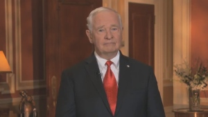 Governor General David Johnston delivers a special statement on Canada Day and Canada 150.