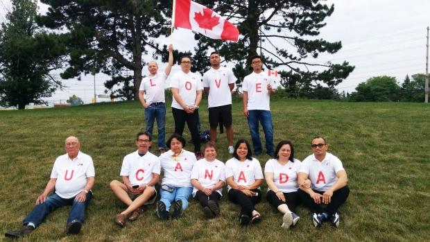 MyNews contributor Jerry Ocenar celebrates Canada Day.