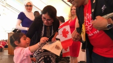 Canada Day - Citizenship ceremony in Calgary