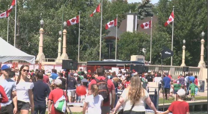 Regina residents celebrate Canada Day