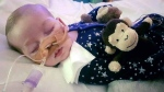 This is an undated handout photo of Charlie Gard provided by his family, at Great Ormond Street Hospital, in London. (Family of Charlie Gard via AP)