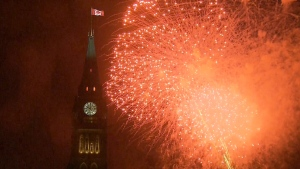 Extended: Highlights from the Canada 150 fireworks