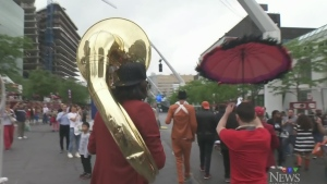 CTV Montreal: Urban Science Brass Band