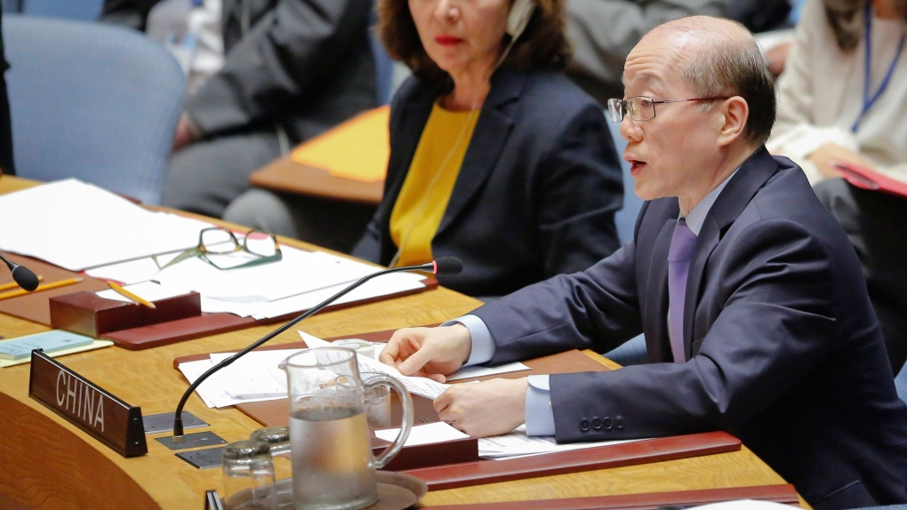 China's Ambassador to the United Nations Liu Jieyi