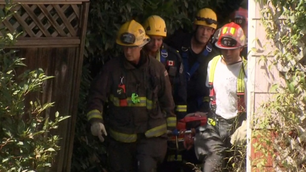 Woman rescued from Surrey, BC, ravine after being trapped for days