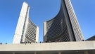 Toronto city hall is pictured in this 2016 file photo. (Peter Power/The Canadian Press)