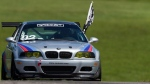 2001 BMW M3 sports car with red and blue decals on the side and a black spoiler mounted above the trunk was stolen in Nova Scotia. (RCMP handout)