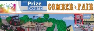 Comber Fair Prize Board
