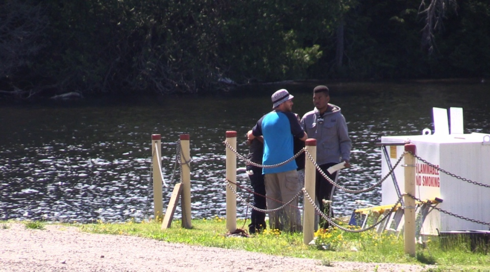 A teenage student is presumed to have drowned in Algonquin Park during a school trip. (Roger Klein / CTV News Barrie)