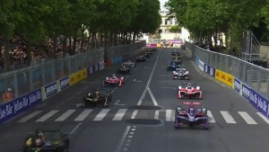 The Formula E race in Montreal in 2017