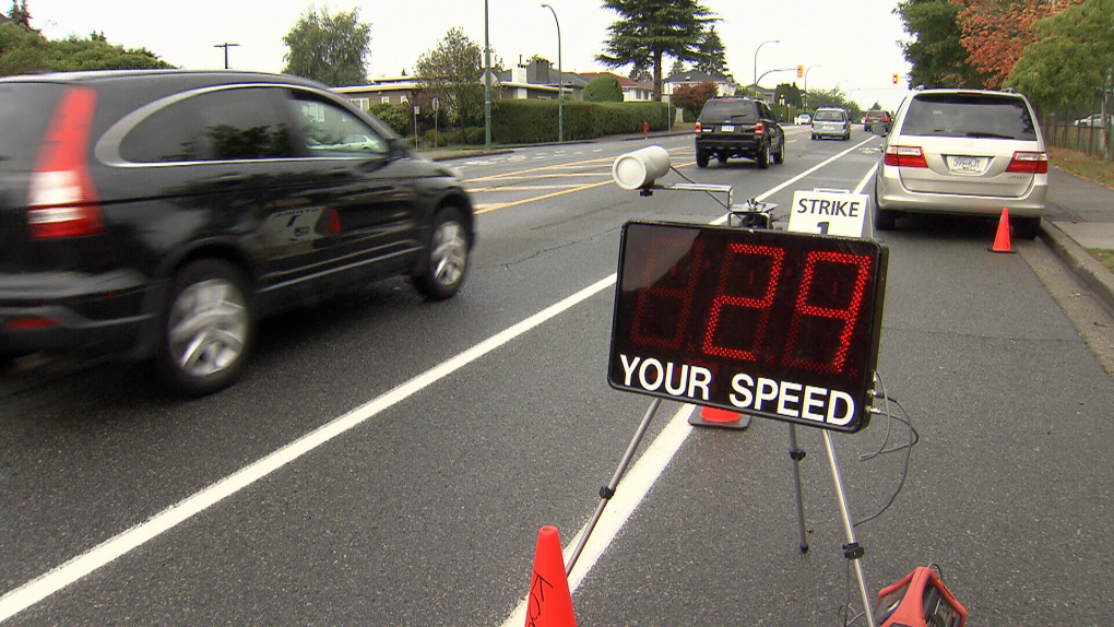 B.C. set to activate five new speed enforcement cameras on Monday