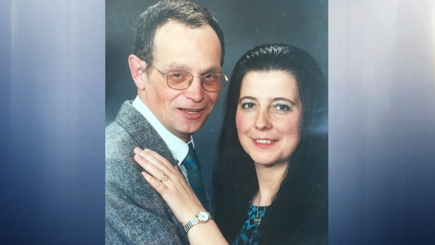 Ken Ahronson and Stella Constantin are seen in a photo released by the family.