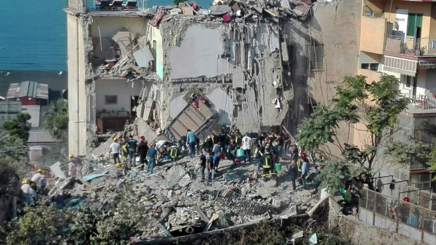 Apartment building collapses in Italy; 3 confirmed dead