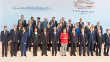 G20 Summit family photo