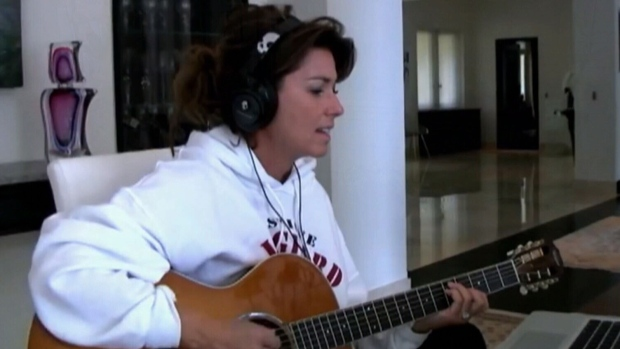 """Shania Twain's latest album """"Now"""" will be her first full-length album in 15 years."""