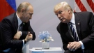 U.S. President Donald Trump meets with Russian President Vladimir Putin at the G20 Summit, Friday, July 7, 2017, in Hamburg. (AP / Evan Vucci)