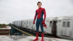 """This image released by Columbia Pictures shows Tom Holland in a scene from """"Spider-Man: Homecoming."""" (Chuck Zlotnick/Columbia Pictures-Sony via AP)"""