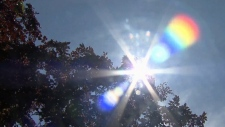 Environment Canada says the hot and sunny conditions could lead to higher pollution levels in the air. (File image)